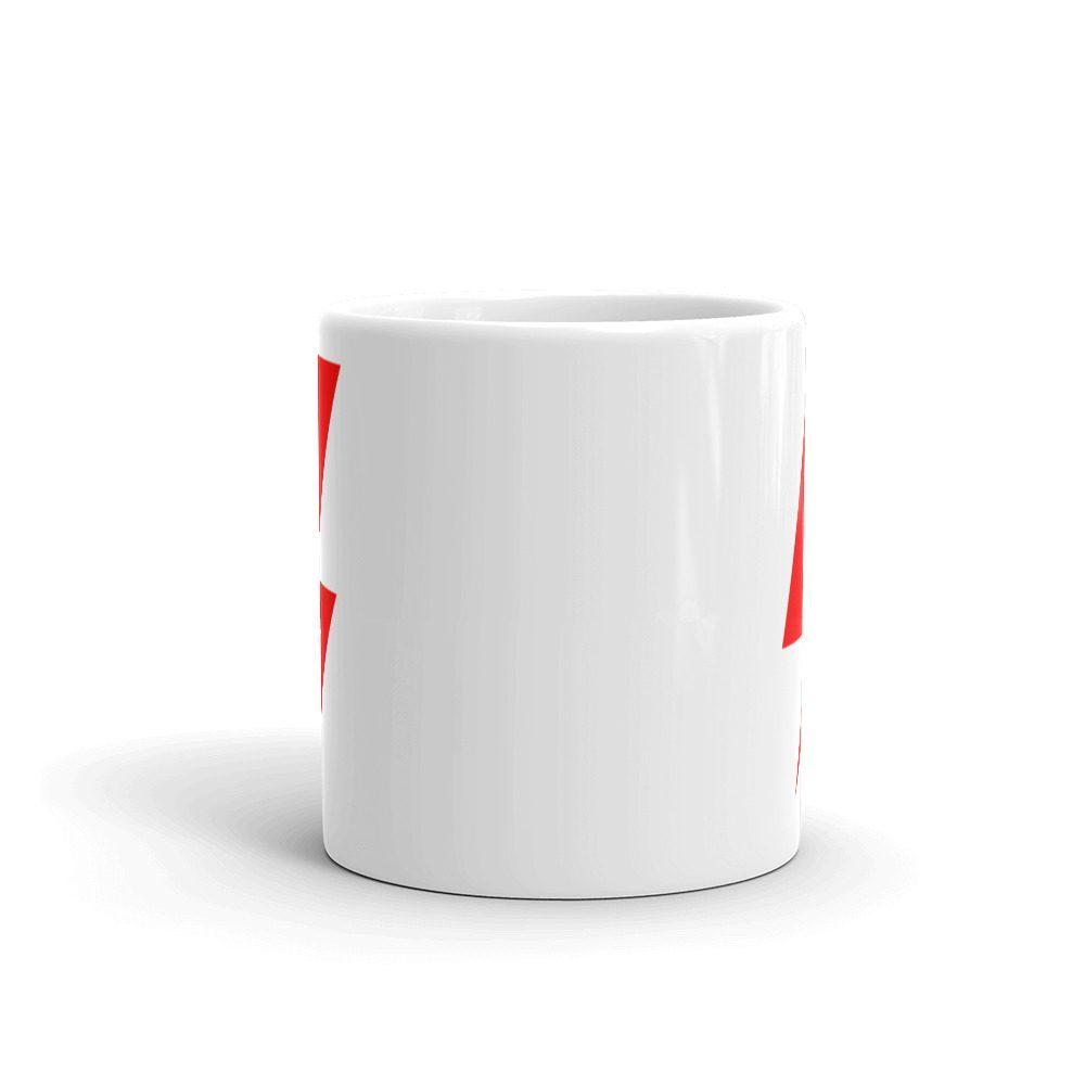 Strajk Kobiet White Glossy Mug