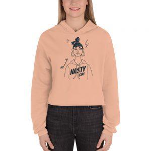 Nasty Girl Crop Hoodie