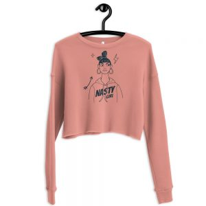 Nasty Girl Crop Sweatshirt
