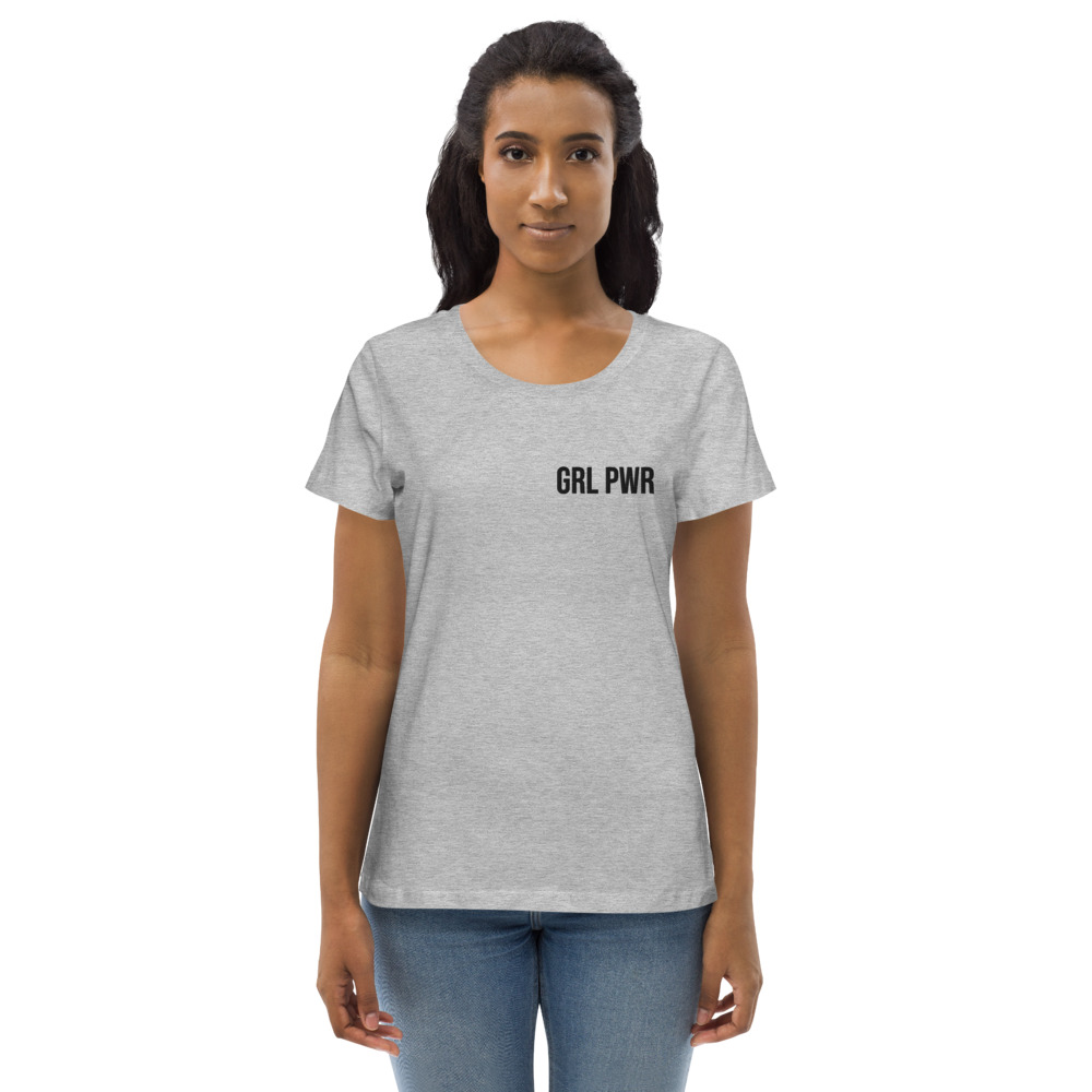 GRL PWR Fitted Eco Tee (Embroidered)