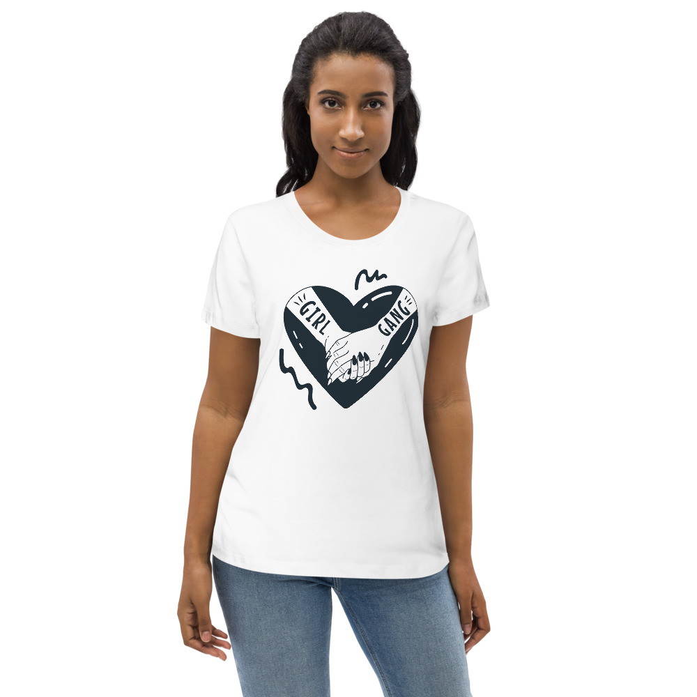 Girl Gang Women's Fitted Eco Tee