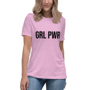 GRL PWR Feminist Relaxed T-Shirt