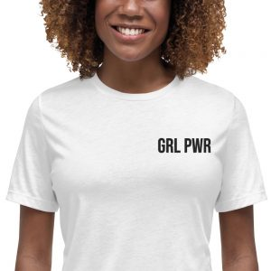 GRL PWR Relaxed T-Shirt (Embroidered)