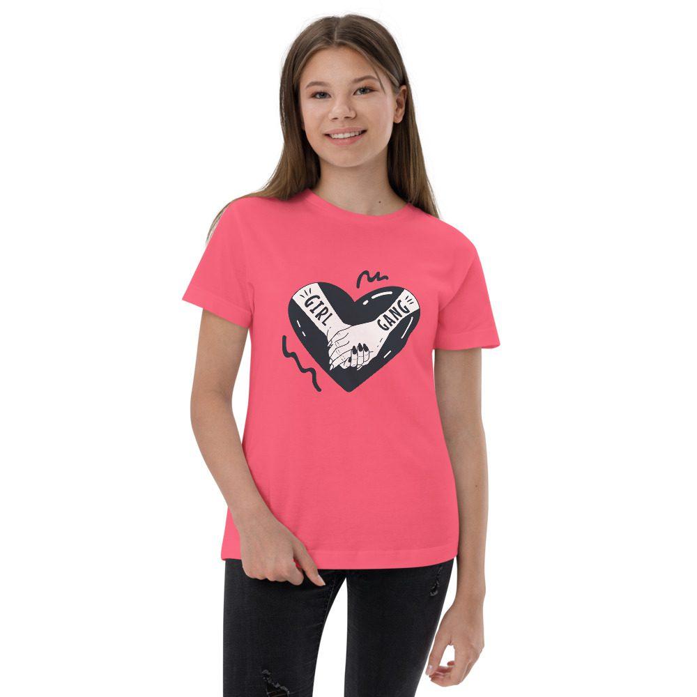 Girl Gang Youth Jersey T-shirt