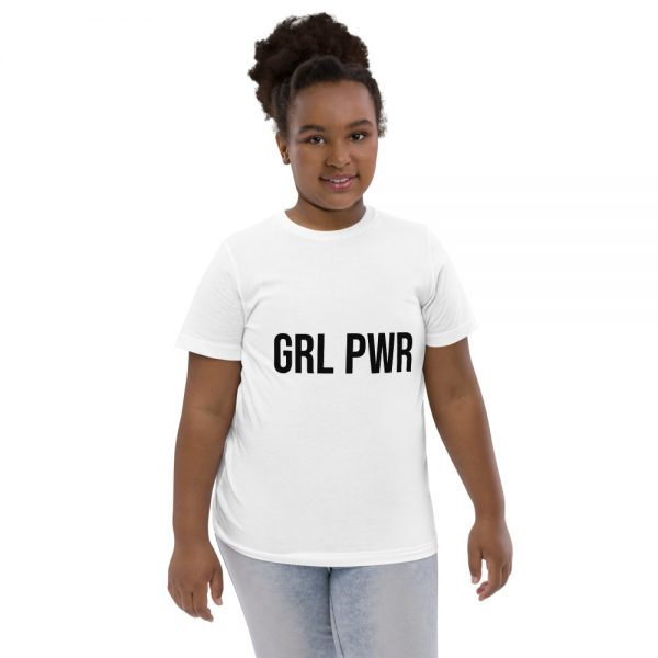 GRL PWR Feminist Youth Jersey T-shirt