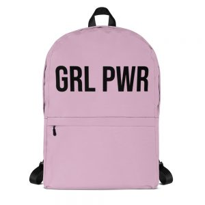 GRL PWR Pink Backpack