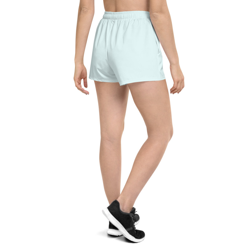 GRL PWR Athletic Baby Blue Short Shorts