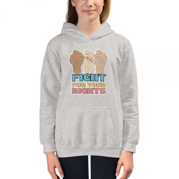 Fight For Your Rights Kids Hoodie