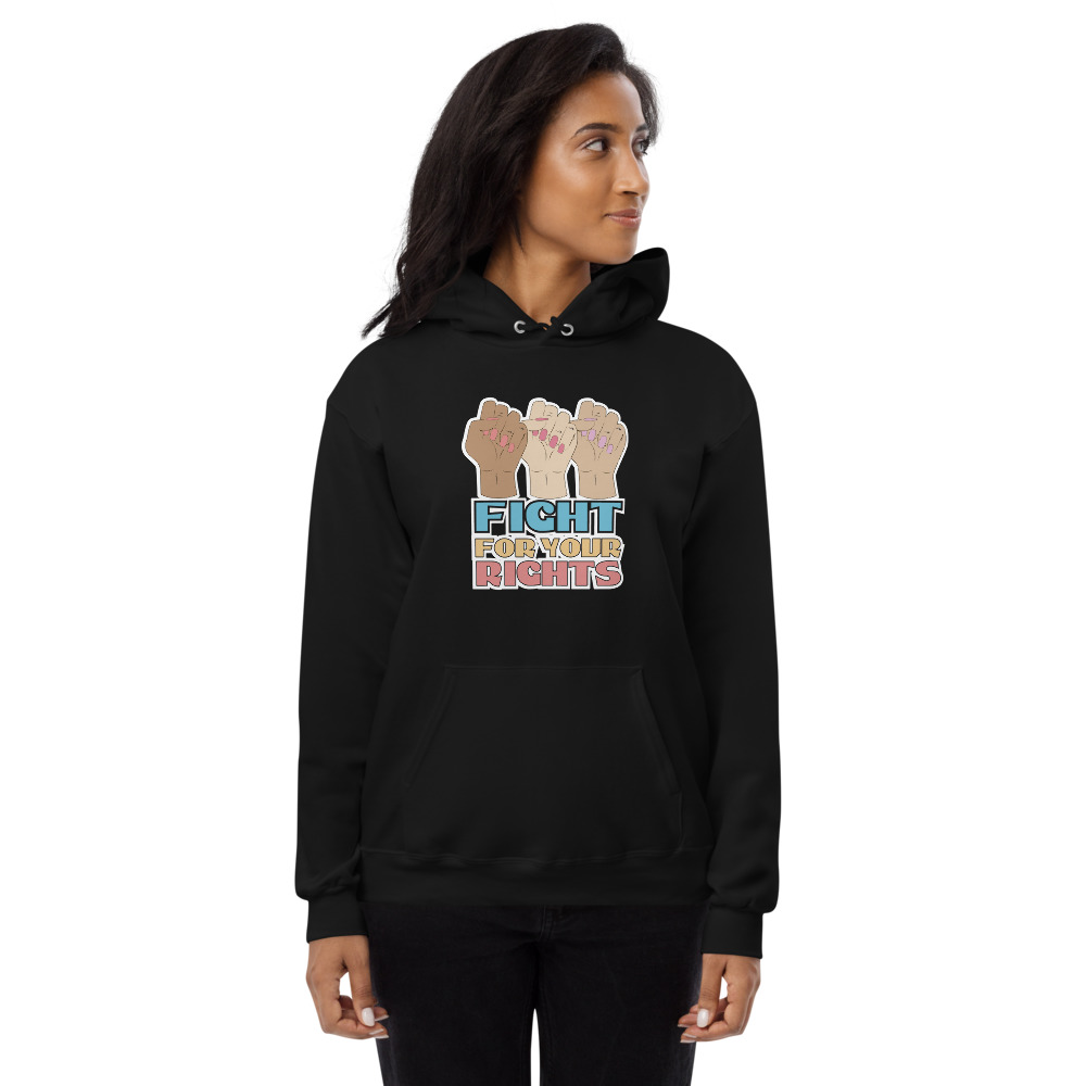 Fight For Your Rights Fleece Hoodie