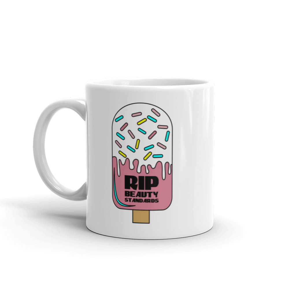 RIP White Glossy Mug