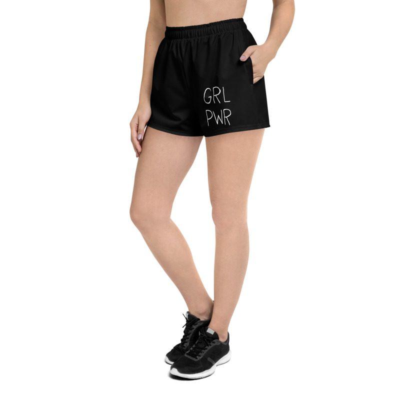 GRL PWR Black Shorts