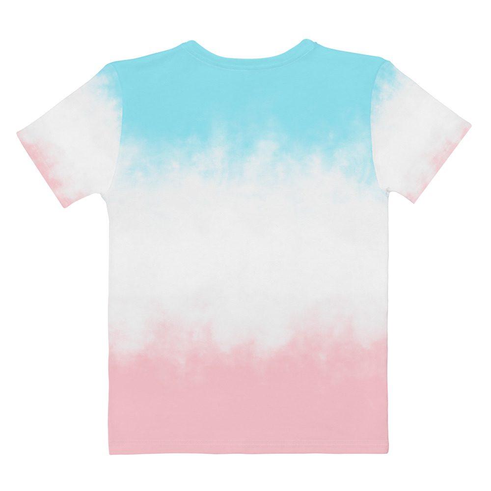 GRL PWR Pink & Blue Tie Dye T-shirt