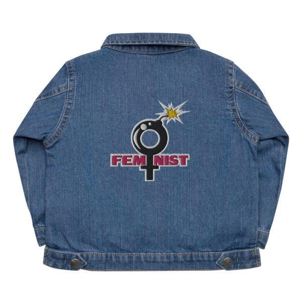 Feminist Baby Organic Jacket