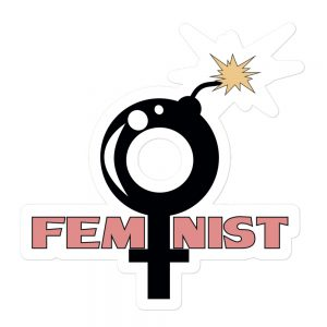 Feminist Bubble-free Stickers