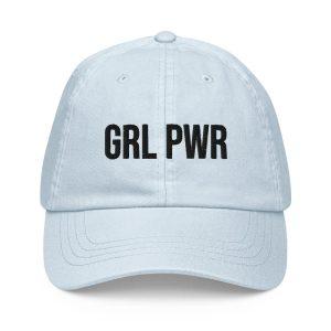 GRL PWR Pastel Baseball Hat