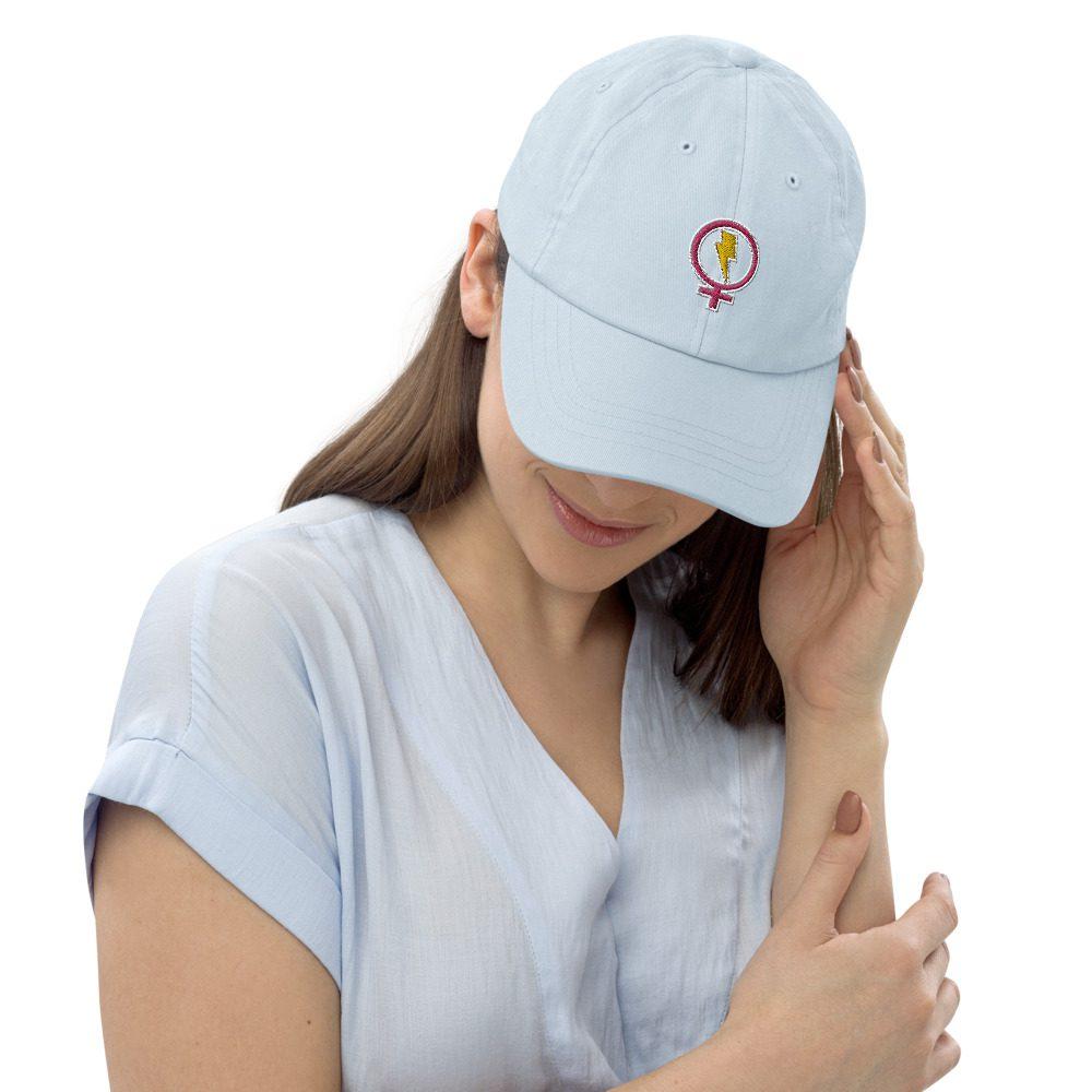 Flash Feminist Pastel Baseball Hat