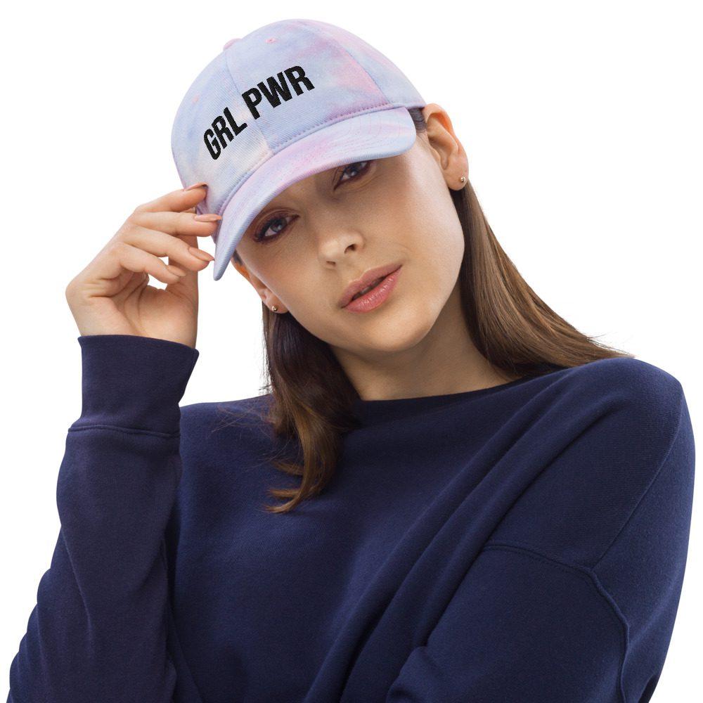 GRL PWR Tie Dye Hat