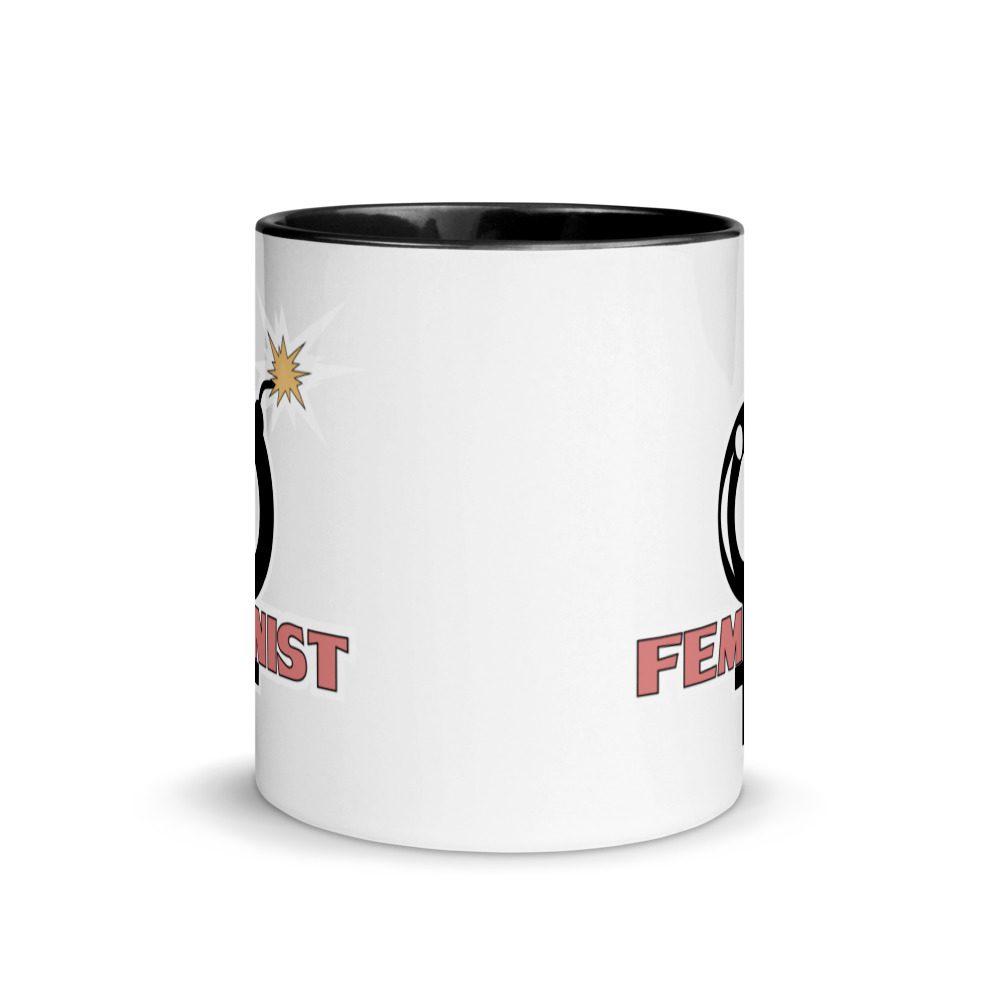 Feminist Mug with Color Inside