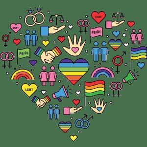 LGBT+ PRIDE ICONS
