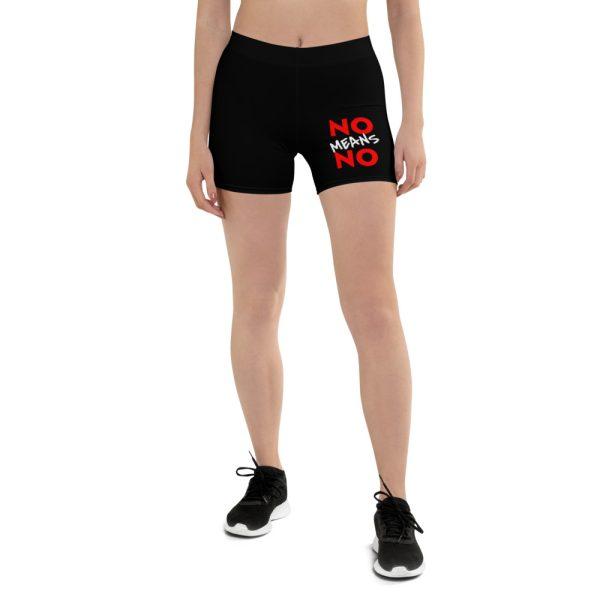 No Means No Cycling Shorts