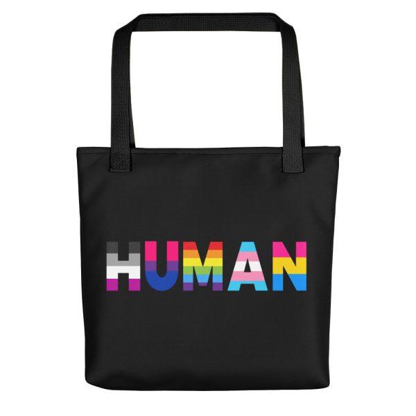 Human LGBT Pride Tote Bag