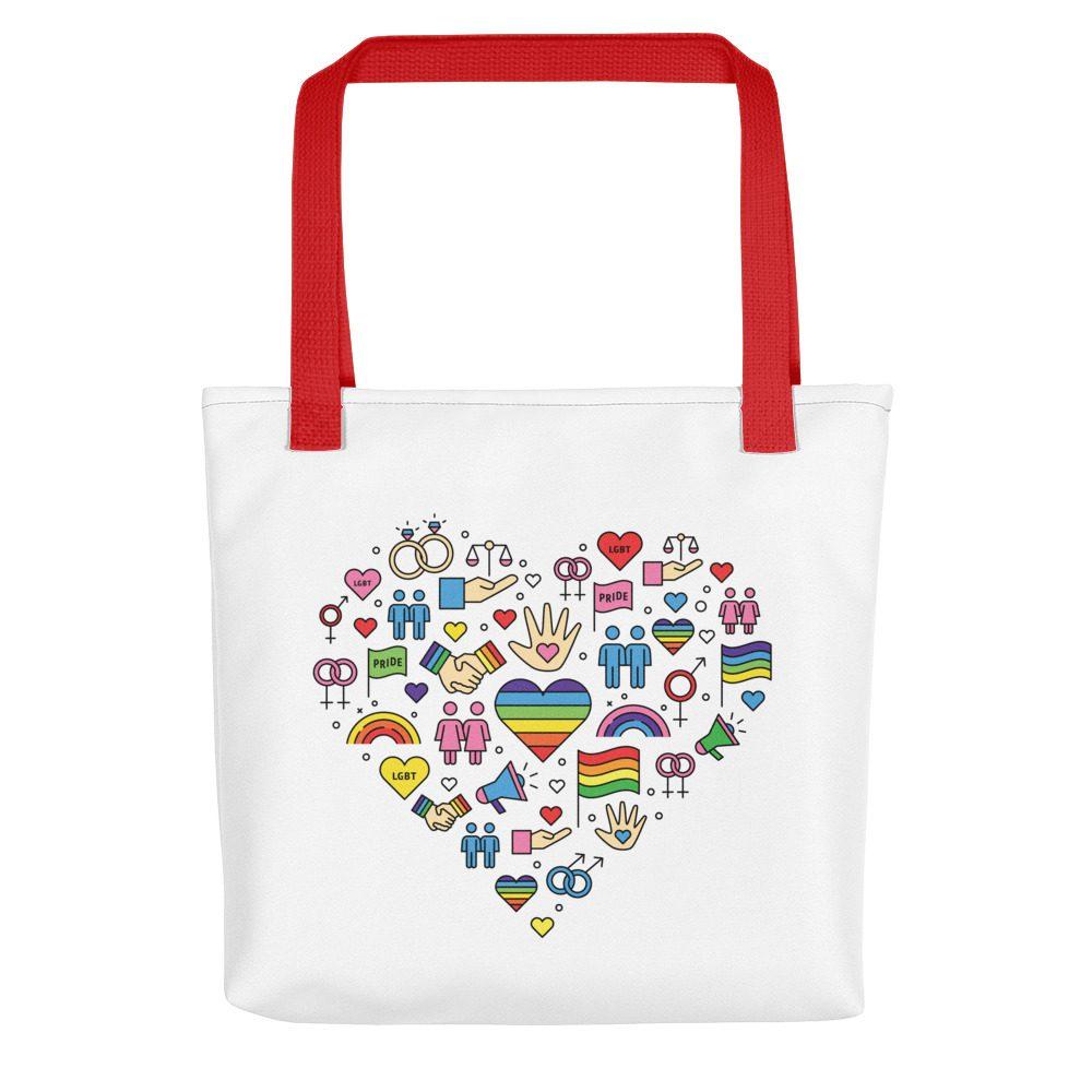 LGBT+ Pride Icons Tote Bag