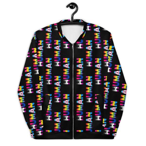 Human LGBT Pride Bomber Jacket