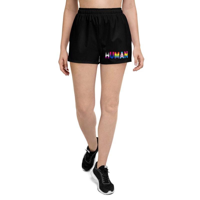 Human LGBT Pride Shorts
