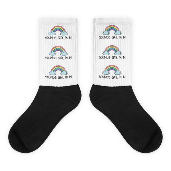 Sounds Gay, I'm In LGBT+ Pride Socks