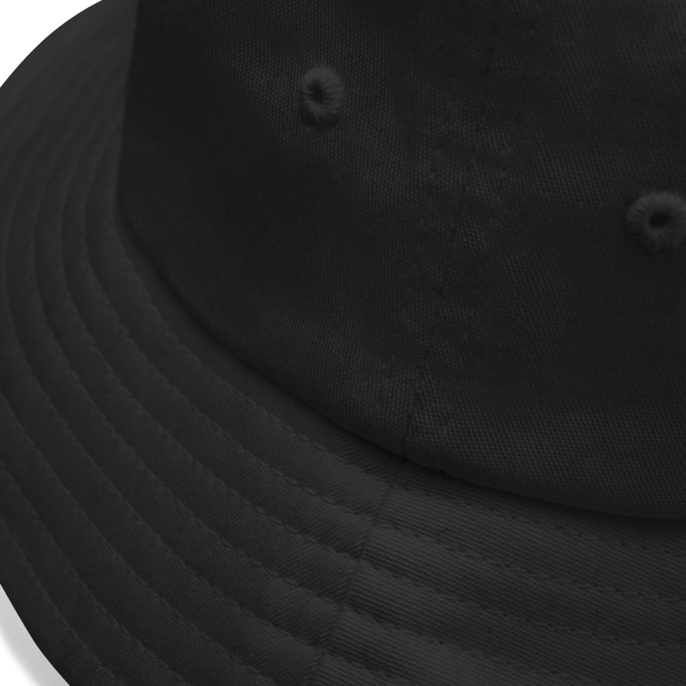 No Means No Old School Bucket Hat