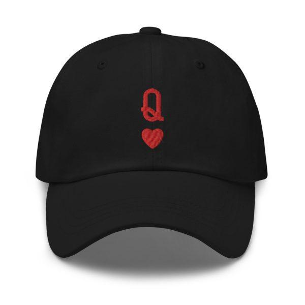 Queen of Hearts Dad Hat