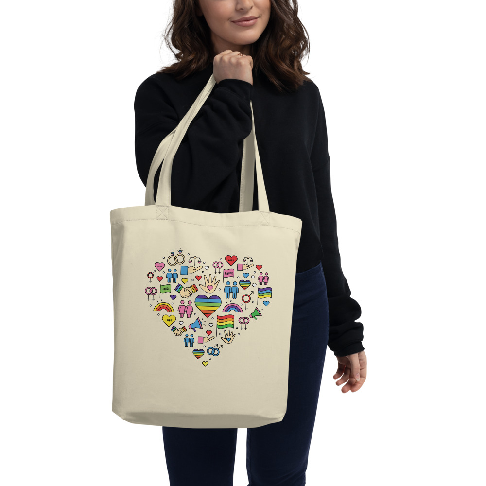 LGBT+ Pride Icons Organic Tote Bag