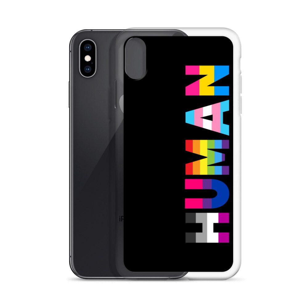 Human LGBT Pride iPhone Case