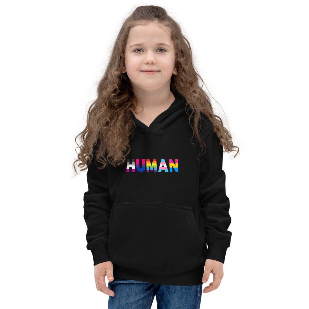 Human LGBT Pride Kids Hoodie