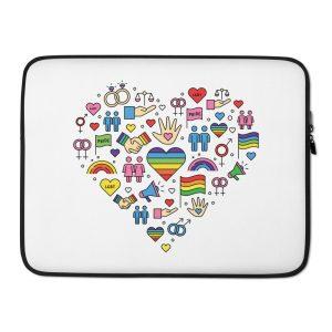 LGBT+ Pride Icons Laptop Sleeve