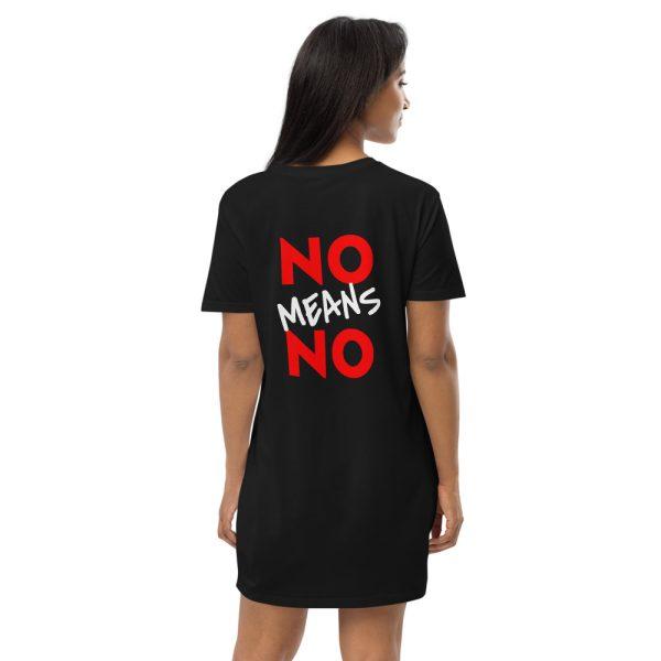 No Means No Organic Cotton T-shirt Dress