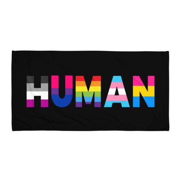 Human LGBT Pride Towel