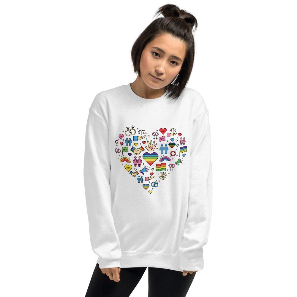 LGBT+ Pride Icons Sweatshirt