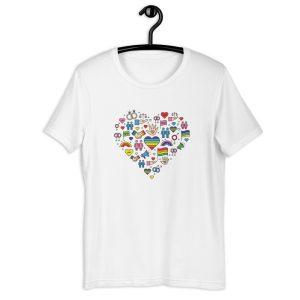 LGBT+ Pride Icons T-Shirt