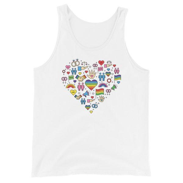LGBT+ Pride Icons Tank Top/Vest
