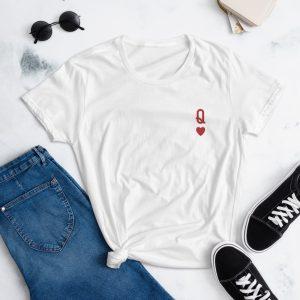 Queen of Hearts Short Sleeve T-shirt