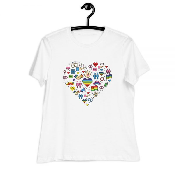 LGBT+ Pride Icons Relaxed T-Shirt
