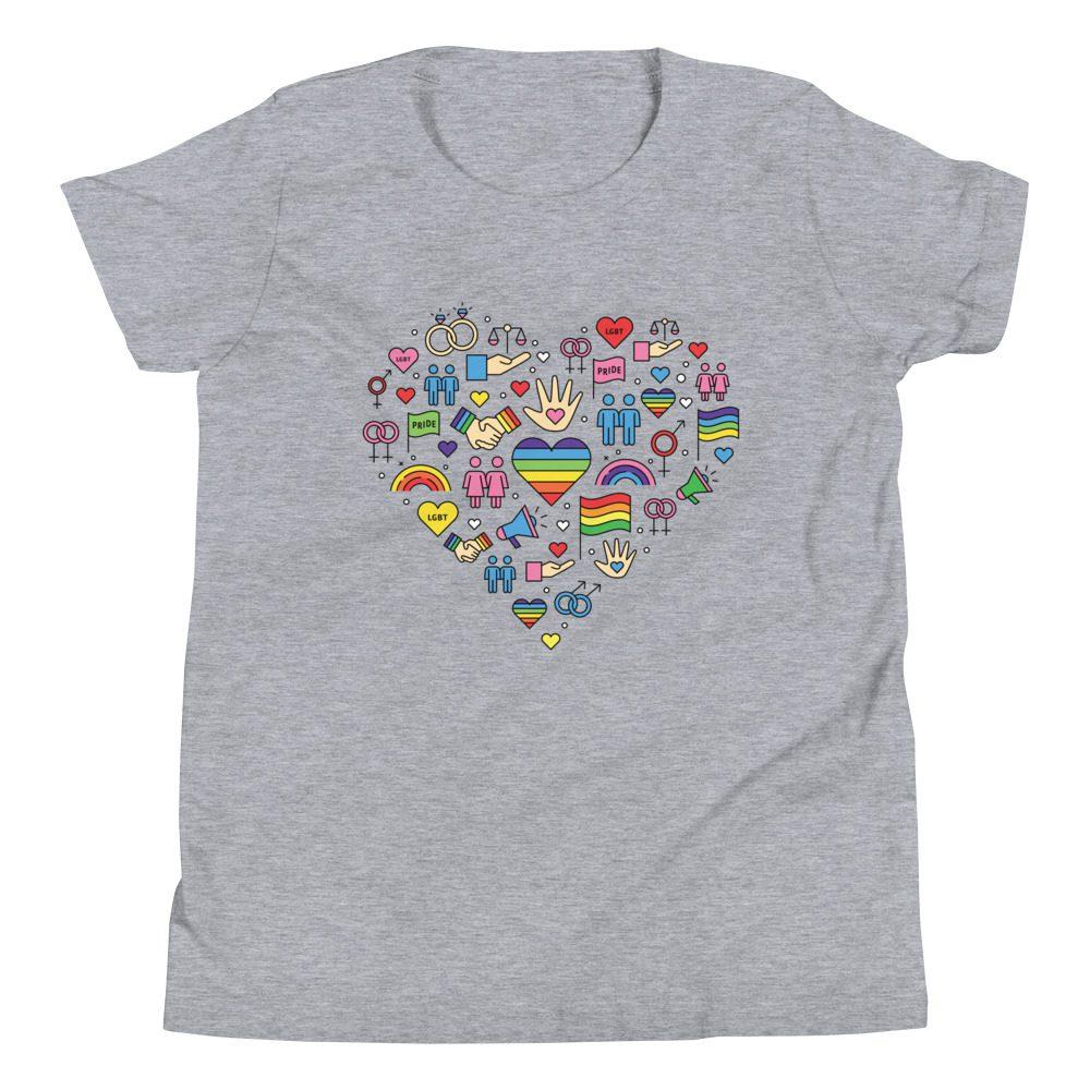 LGBT+ Pride Icons Kids T-Shirt