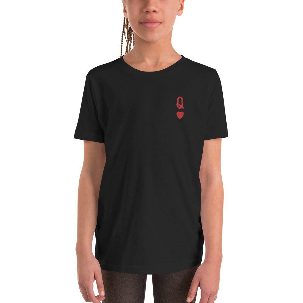Queen of Hearts Kids T-Shirt