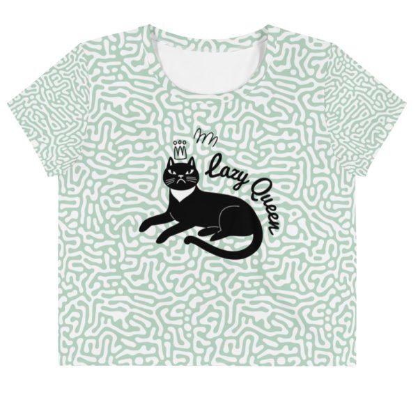 Lazy Queen Crop T-shirt