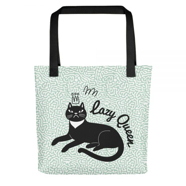 Lazy Queen Tote bag