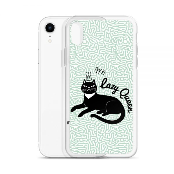Lazy Queen iPhone Case