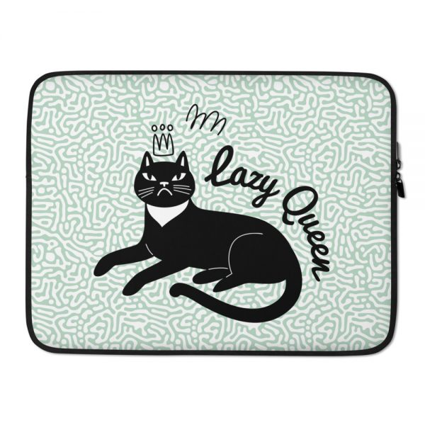 Lazy Queen Laptop Sleeve