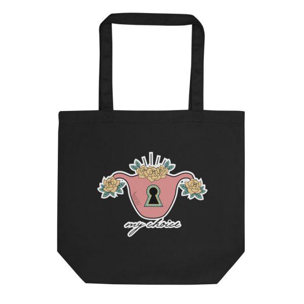 My Choice Feminist Organic Tote Bag