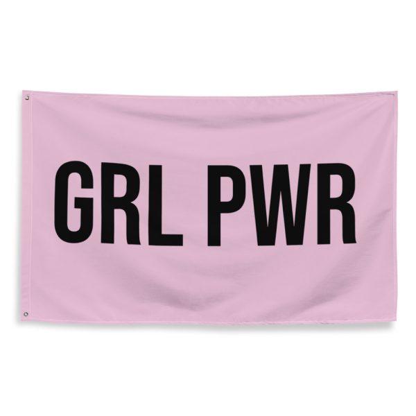 GRL PWR Feminist Flag